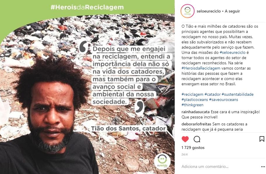 heróis da reciclagem