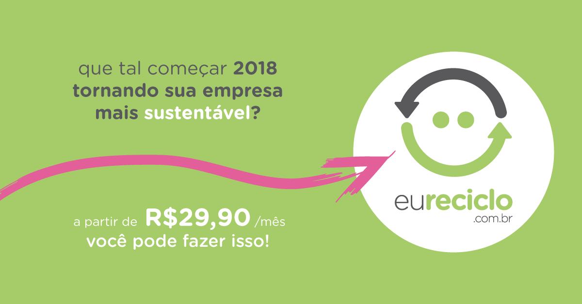 empresa sustentável em 2018